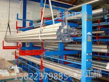 304管道货架 直接存放的管道货架 伸缩悬臂式管道货架