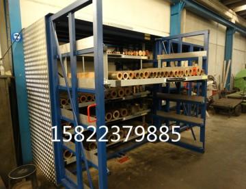 放管材 板材 棒料 軸類 圓柱不規則形狀貨物就用推拉式貨架