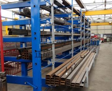 贵州型材货架存放6米铝型材 管 棒 轴 杆 钢材 建材 槽