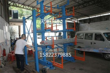 浙江铝型材货架伸出式存放铝材 铝板 铝箔 铝管 铝棒 铝轴