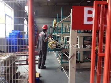 江苏铜管货架 伸缩悬臂式存放黄铜管 紫铜管 铜管 铜料 铜棒