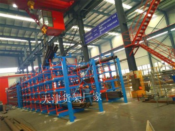 江苏移动式美高梅手机版登录4858行车管材存放架专业管材仓库货架