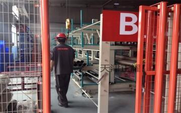 安徽管材货架伸缩悬臂式钢管存放架 6米管材专用货架