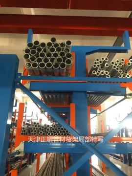 浙江案例美高梅手机版登录4858 机械化管材存放新形势 钢材型材分类存放