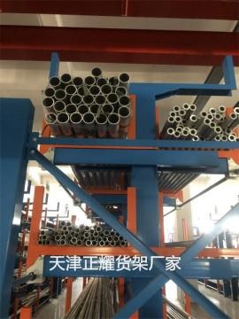 管材抽屉式货架 抽屉式管材货架 管材存放图片