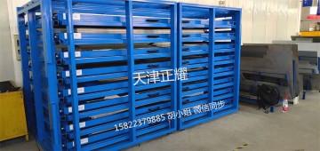 板材钢板存放抽屉式货架 节省空间设计案例