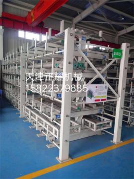 苏州型材货架 江苏伸缩悬臂式型材存放架厂家直销