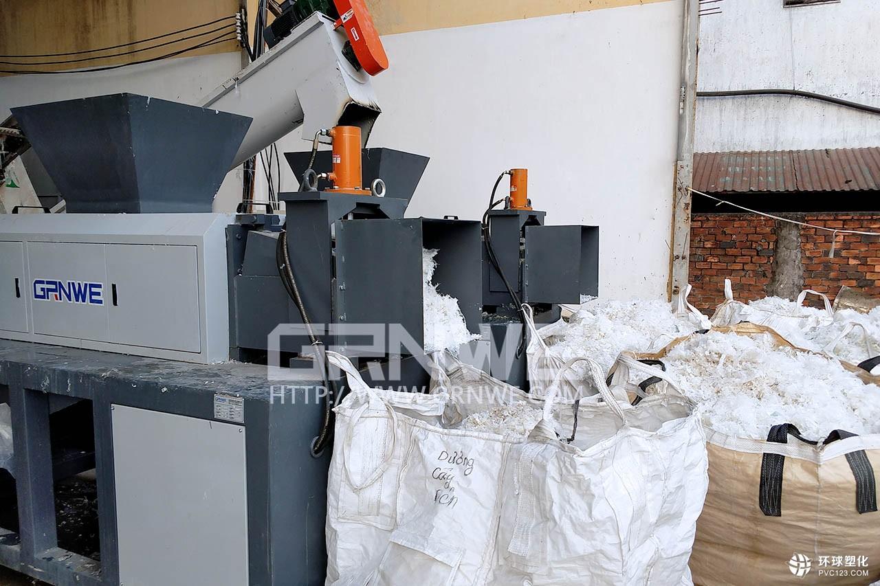 GRNWE高效节能废旧工业膜回收生产线